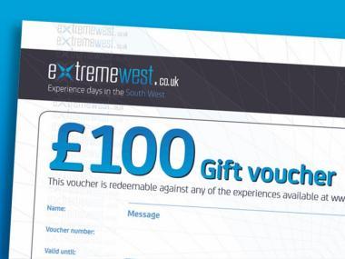 £100 gift voucher prize