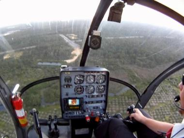 Private Helicopter Sightseeing Flight In Devon