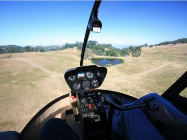 HELICOPTER LESSON IN DEVON 30 MINUTES