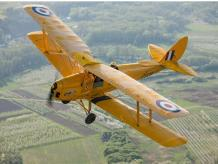 TIGER MOTH BI-PLANE FLYING EXPERIENCE 20 MINUTES IN DORSET