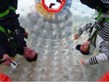 30% OFF - ZORBING FOR TWO